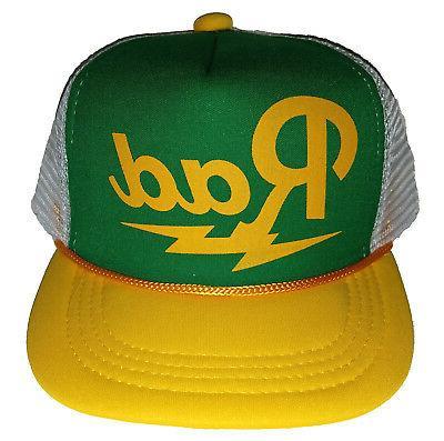 Kid's Rad Radical Snapback Mesh Trucker Hat Cap Toddler Chil