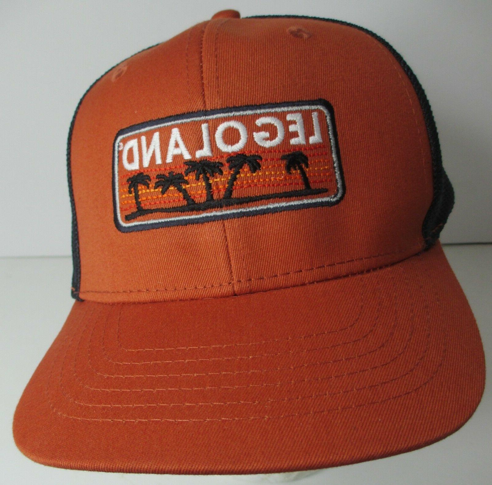 legoland hat cap trucker snapback california usa