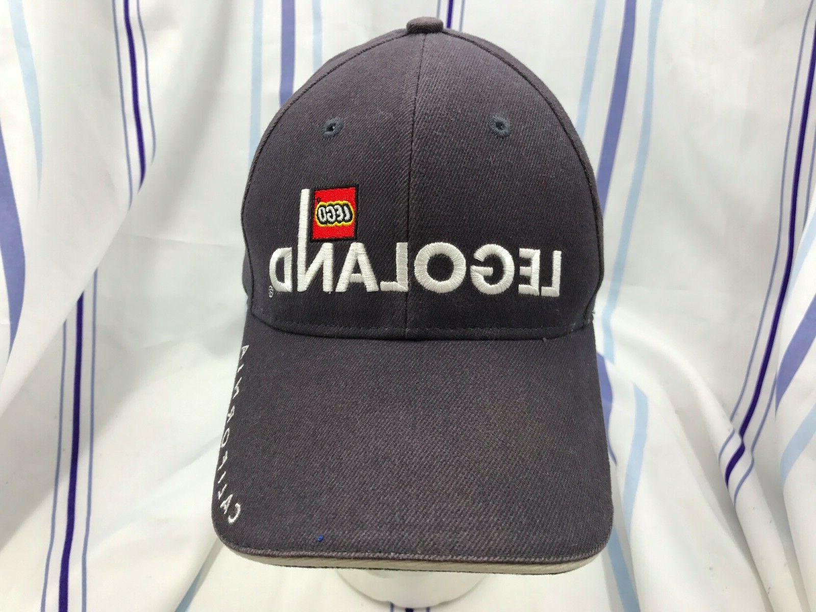 Legoland Lego California Adjustable Embroidered Trucker Hat