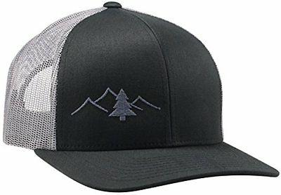 Lindo Trucker Hat Great Outdoors Collection Black/Graphite H