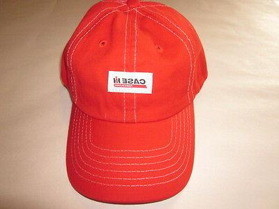NEW! CASE IH Tractor Agriculture Farm Youth Red Trucker Hat