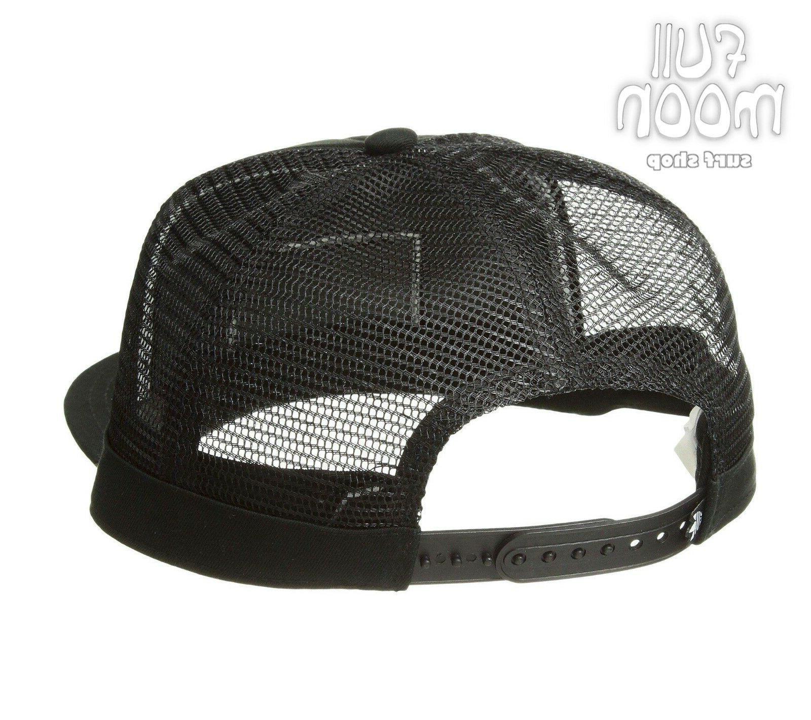 Black Mens Snapback Cap