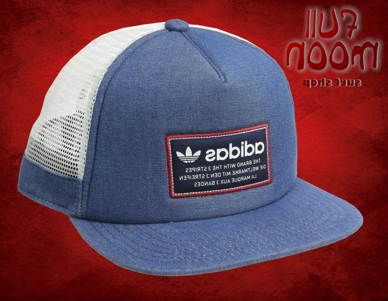 New Adidas Originals Patch Mens Snapback Trucker Cap Hat