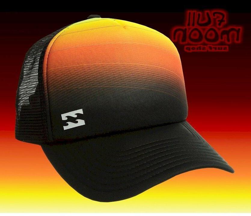 New Billabong Range Mens Snapback Trucker Hat Cap