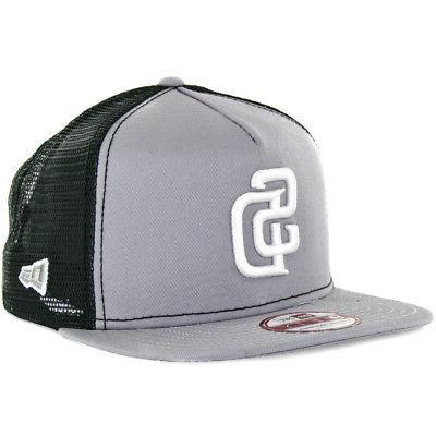New Era 9Fifty San Diego Padres Trucker Snapback Hat  Men's