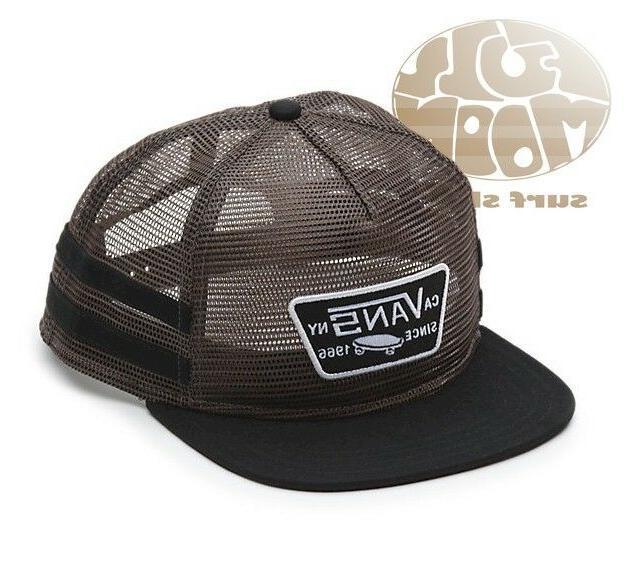 New Vans Munger Trucker Mens Mesh Snapback Cap Hat
