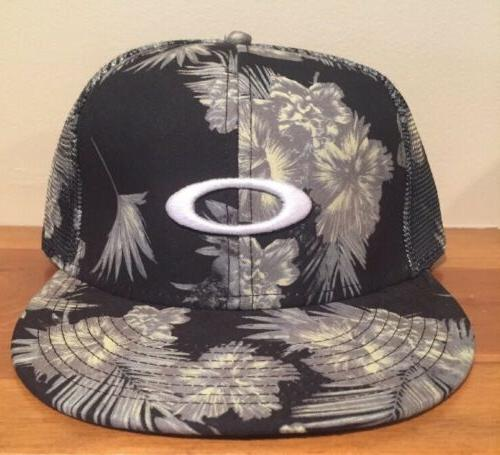 Oakley Snapback Mesh Floral Summer Sublimated Trucker Hat Ca