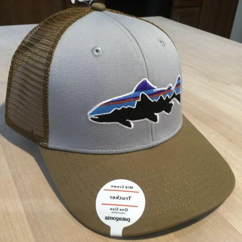 Patagonia Trucker Hat - With - Grey w/