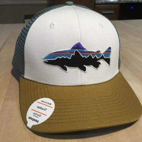 Patagonia Fitz Trucker Hat New With Tags w/ Kastanos