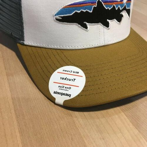 Patagonia Fitz Trucker - With Tags White w/