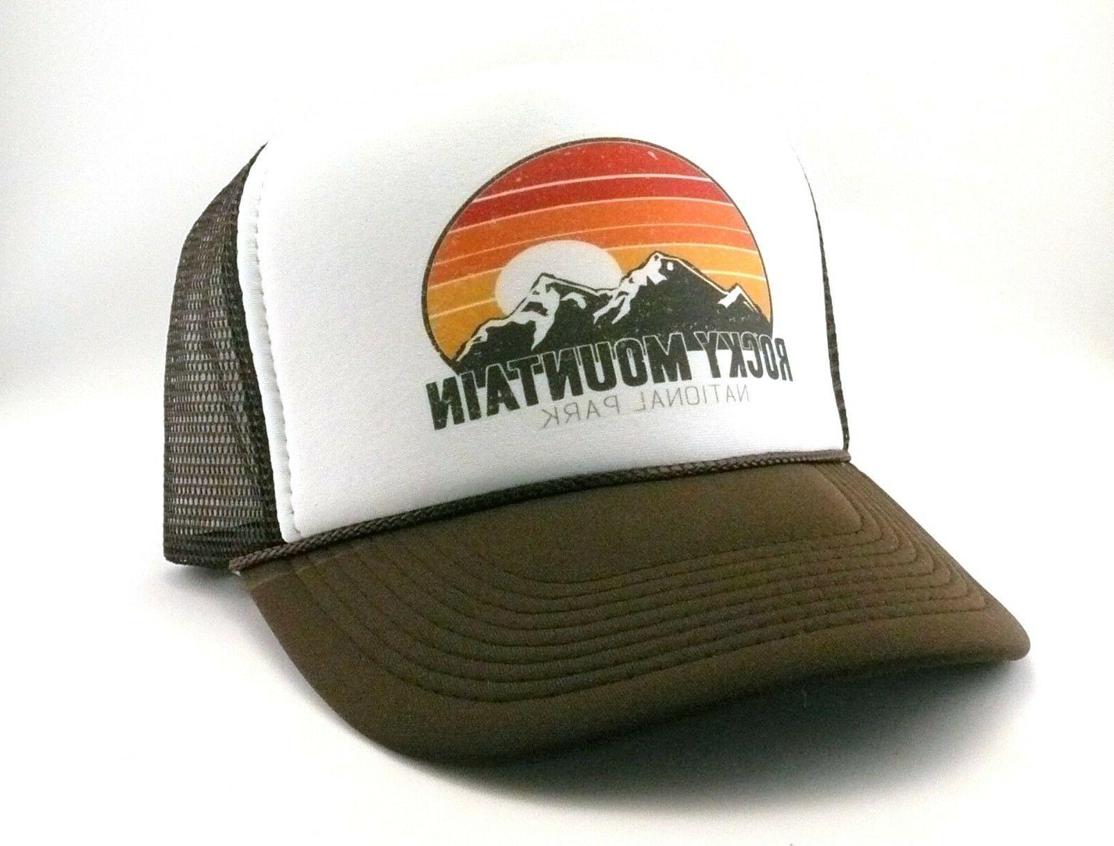 Rocky Mountain National Park Colorado Trucker Hat mesh hat s