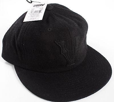 Vans Snider BLACK Wool Hat-NEW-$32-off the wall strapback ca