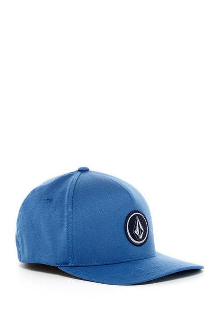 Volcom Stone Men's Blue One Over Four Trucker Hat Baseball C