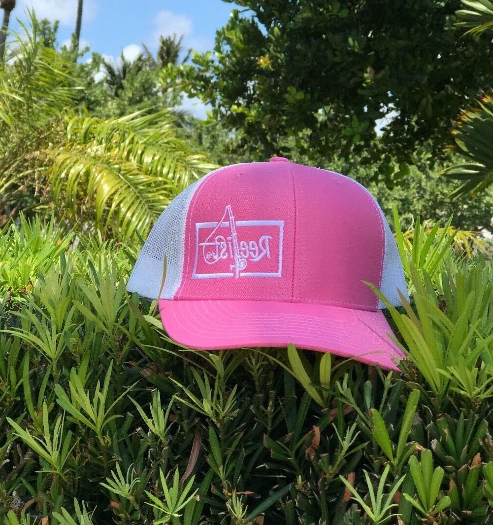 Women's Richardson Trucker Hat by Reelist brand