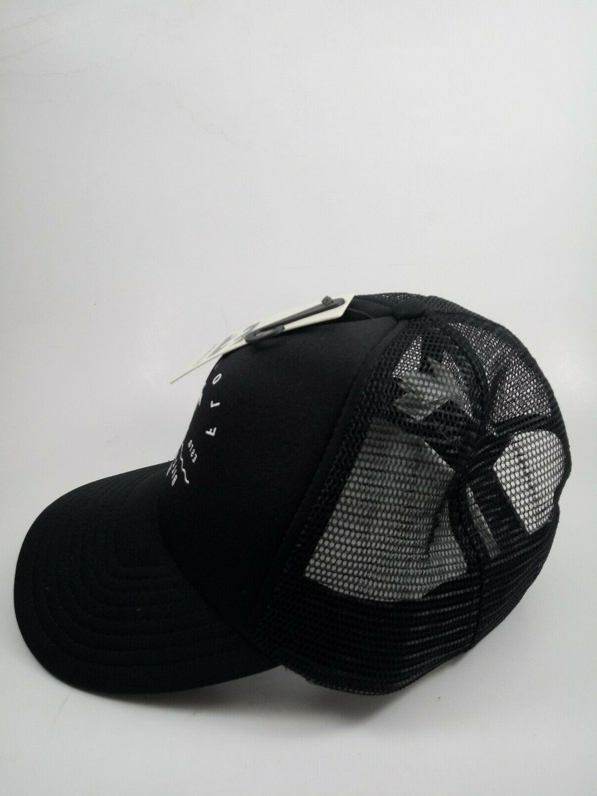 Billabong AI Trucker Hat Black New with Tags