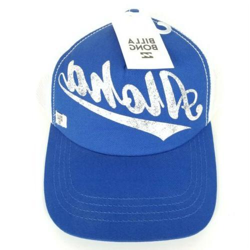 aloha forever blue snapback trucker hat cap