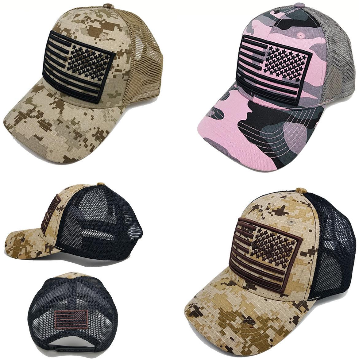 american usa flag hat camo men women