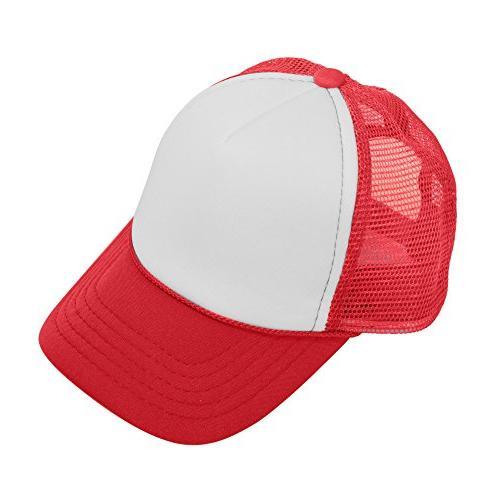 baby girls boys trucker caps toddler hats