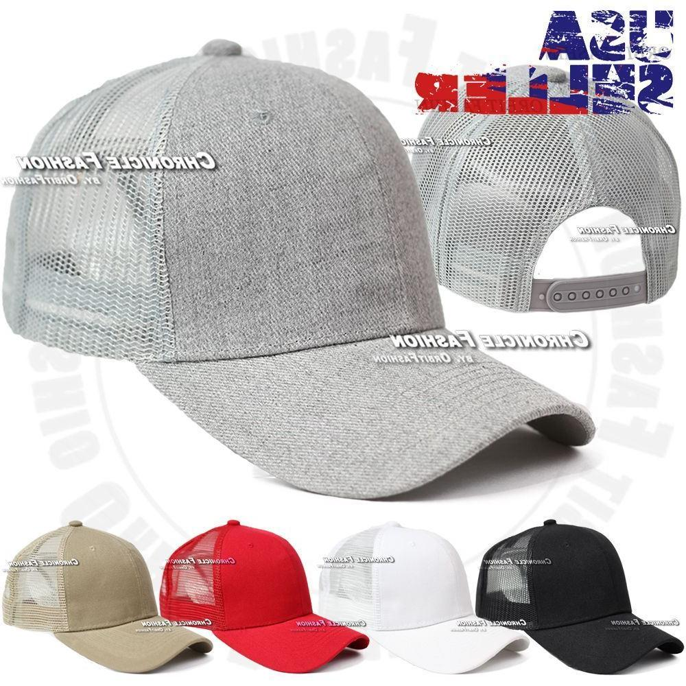 Trucker Snapback Solid Hats
