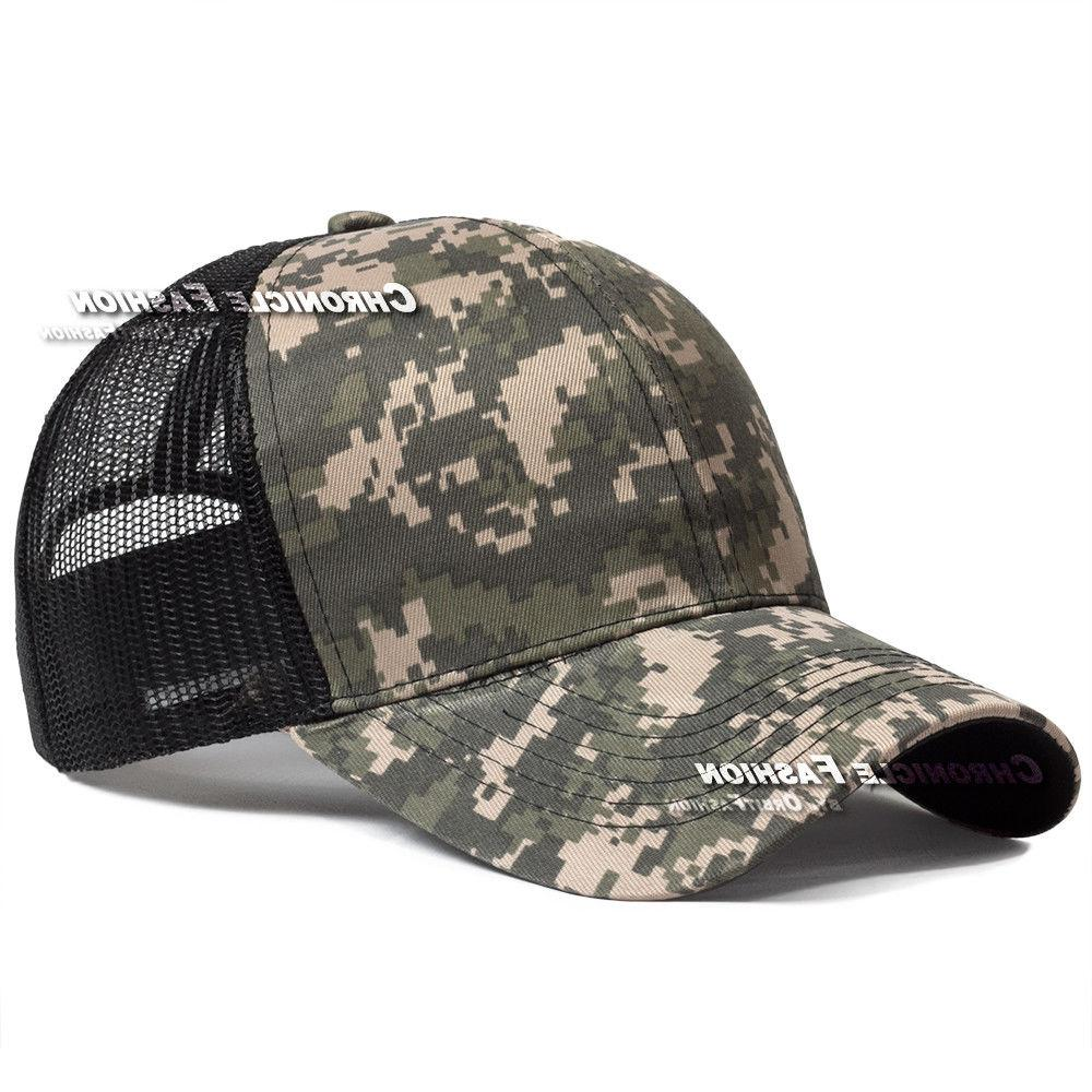 Trucker Snapback Mesh Cap Visor Caps