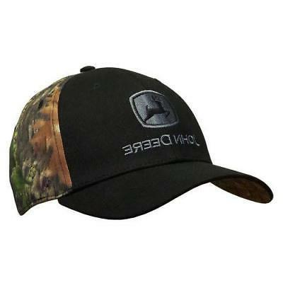 black front camo back stretch fitted hat