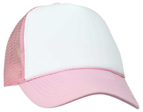 blank hat two tone summer mesh cap