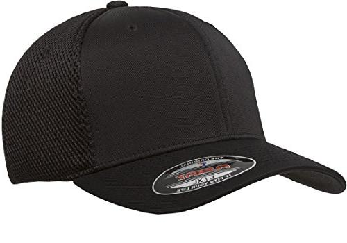 blank ultrafibre mesh fitted hat