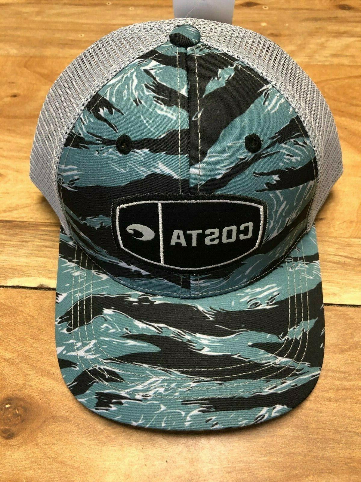 brand new mesh adjustable cap hat tiger