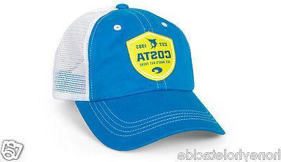 brand new shield trucker cap hat costa