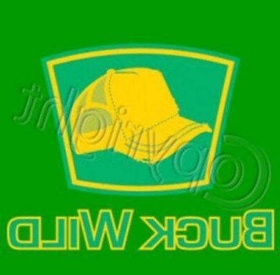 buck wild trucker hat logo t shirt