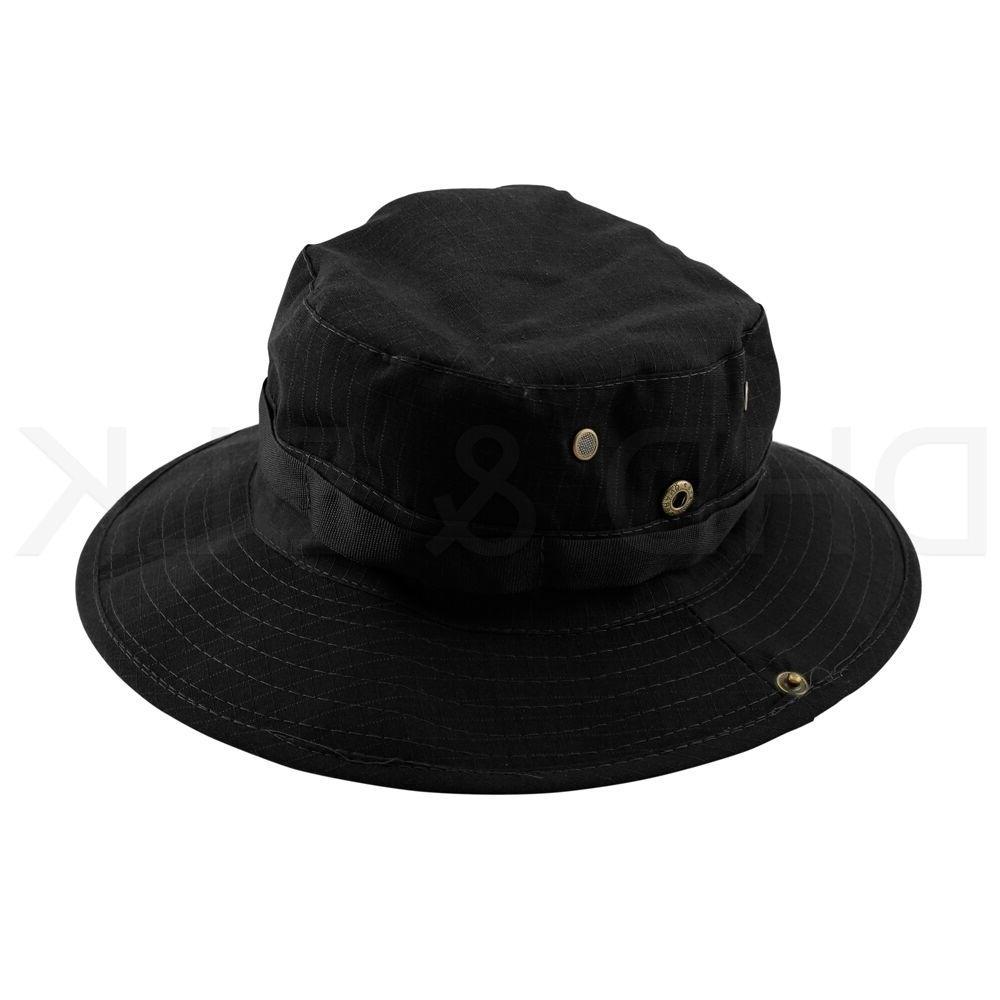 Bucket Hat Fishing Outdoor Men Cap Washed NEW STRINGS