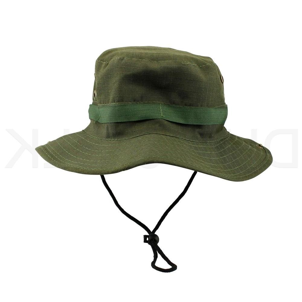Bucket Hat Hunting Fishing Washed W/ STRINGS