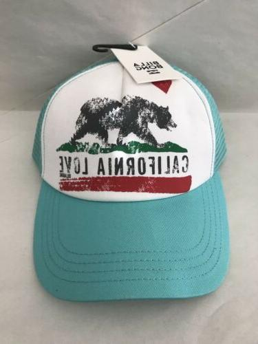 Billabong California Love Pitstop Trucker Hat - Mo-Mint  - J