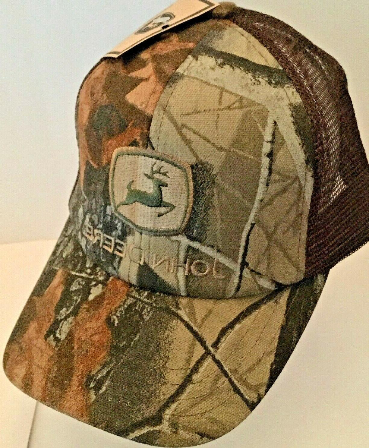 camo brown green trucker mesh snapback hat