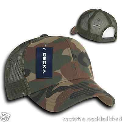 Decky Camouflage Curve Constructed Hats Caps Snapback