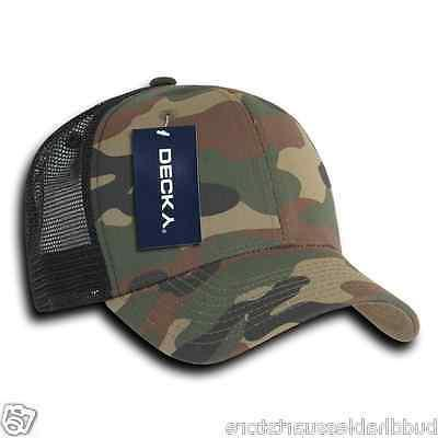 Decky Curve Constructed Snapback Cotton