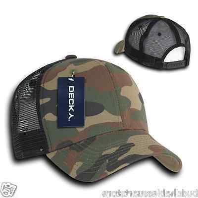 Decky Constructed Trucker Hats Caps Snapback Cotton Mesh