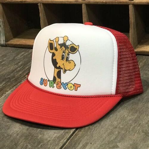 cat tractors trucker hat old caterpillar logo