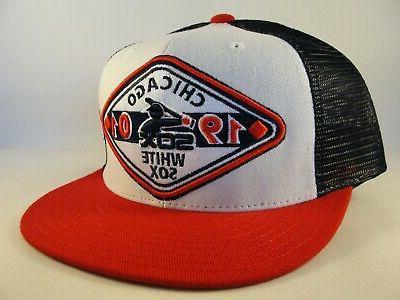 Chicago White Sox MLB Vintage Trucker Hat Cap Needle