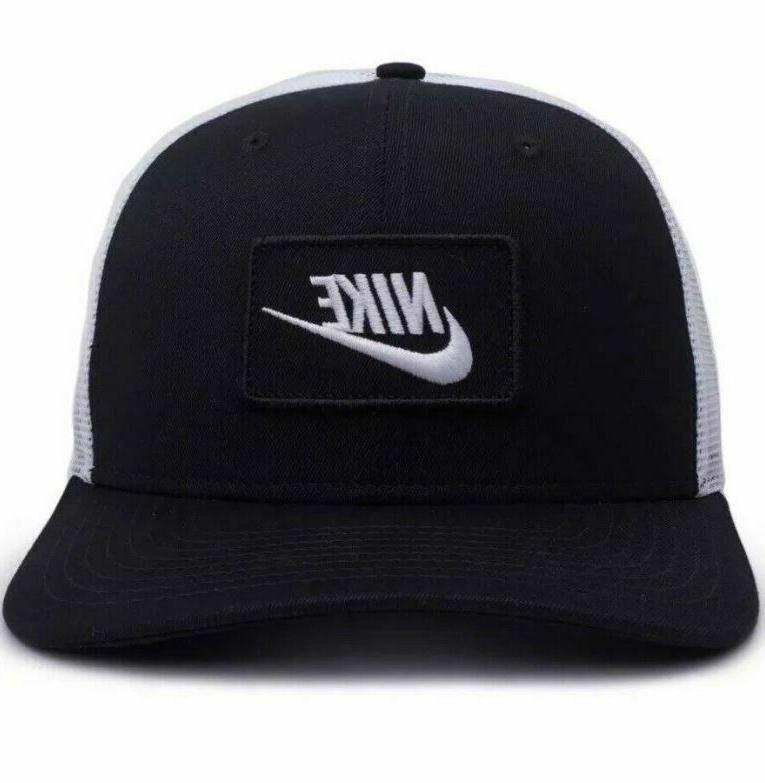 Nike Classic 99 Trucker Hat Black Mesh New