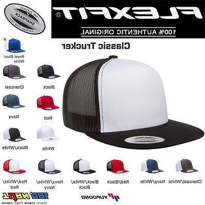 classic contrast trucker mesh hat snapback os