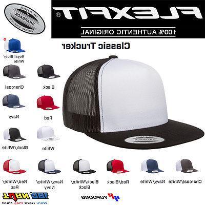 FLEXFIT Classic Snapback Hat Cap 6006 6006T