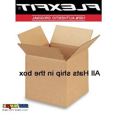 FLEXFIT CAP PLAIN BLANK BASEBALL HAT FLEX CURVED 6511 6511T