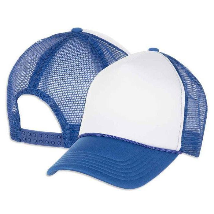 Custom Trucker Snap Hat Baseball Pick Your Color photo or