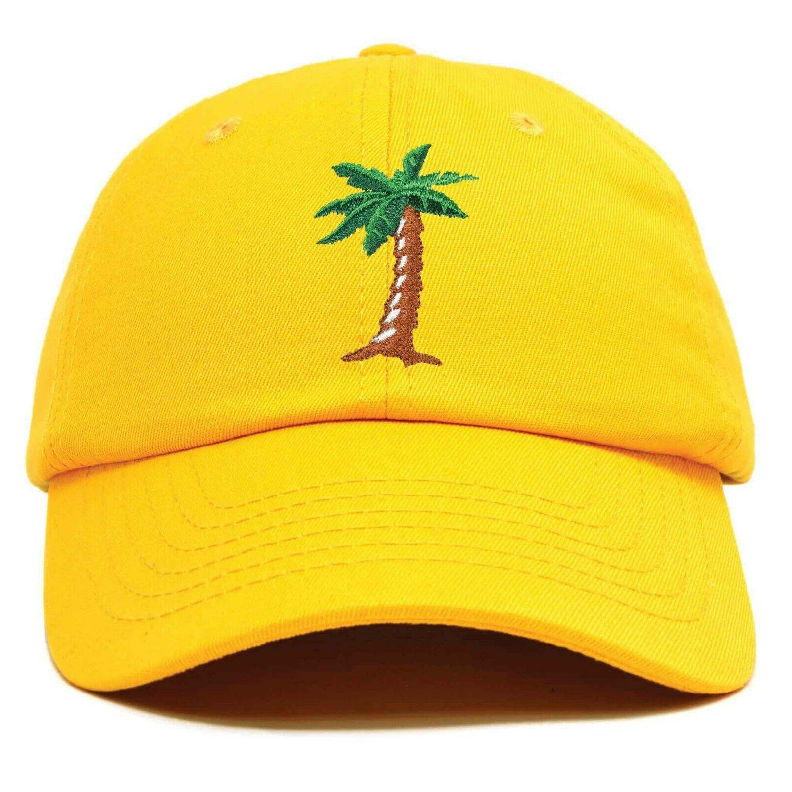 dad hats palm tree baseball cap trucker