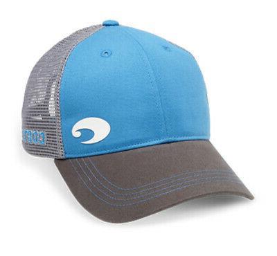 del mar offset logo xl fit trucker