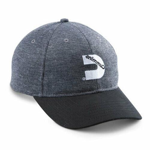 diesel engines trucker heathered gray cap hat