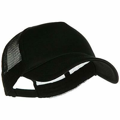 e4hats big foam mesh truck cap black