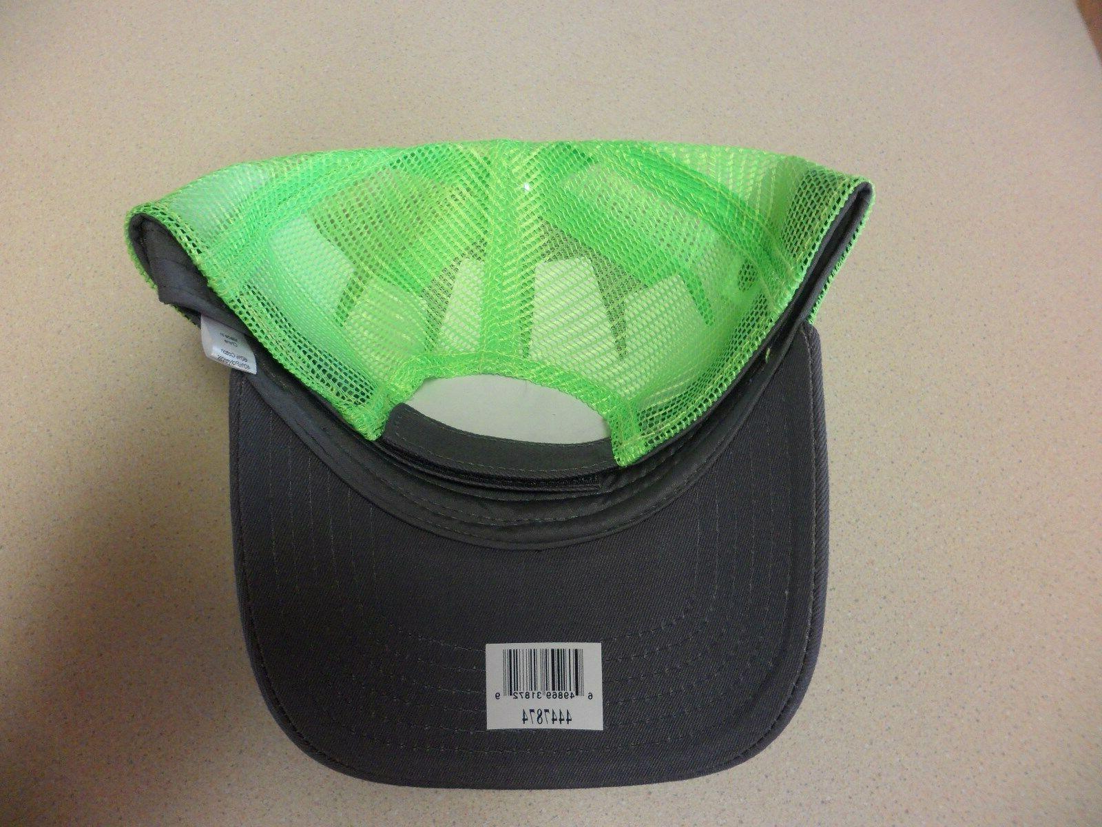 Caterpillar Charcoal Green & mesh Ballcap
