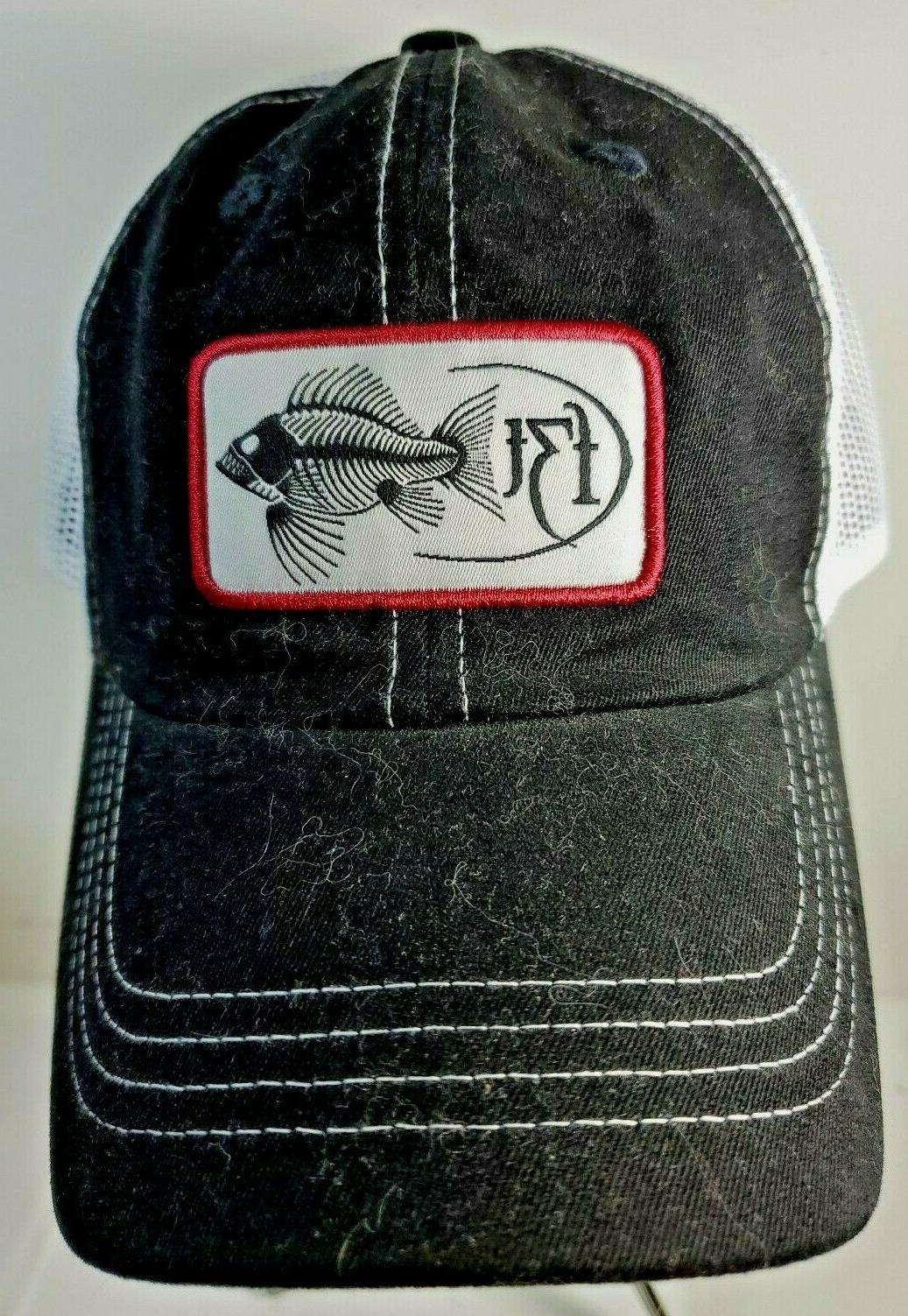 f3t embroidered logo patch hat fishing outdoor